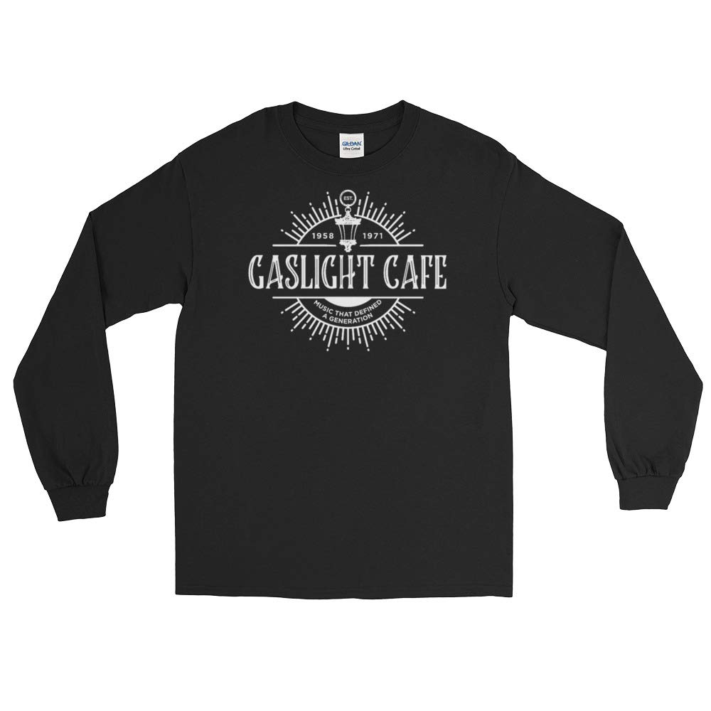 The Marvelous Mrs Maisel Gaslight Cafe Black Long Sleeve T-Shirt