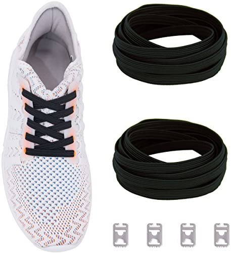 Ceratown Shoelaces Elastic Stainless Replacement