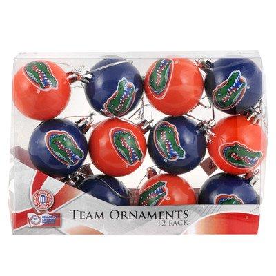 NCAA Ball Ornament (Set of 12) NCAA Team: Florida Gators - Florida Gators Christmas Ornaments