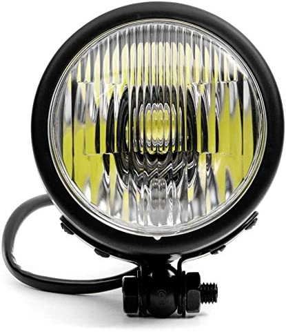 Fog Lights LED Bulb Black Housing Krator 4.25 Mini Headlight w//High and Low Beam