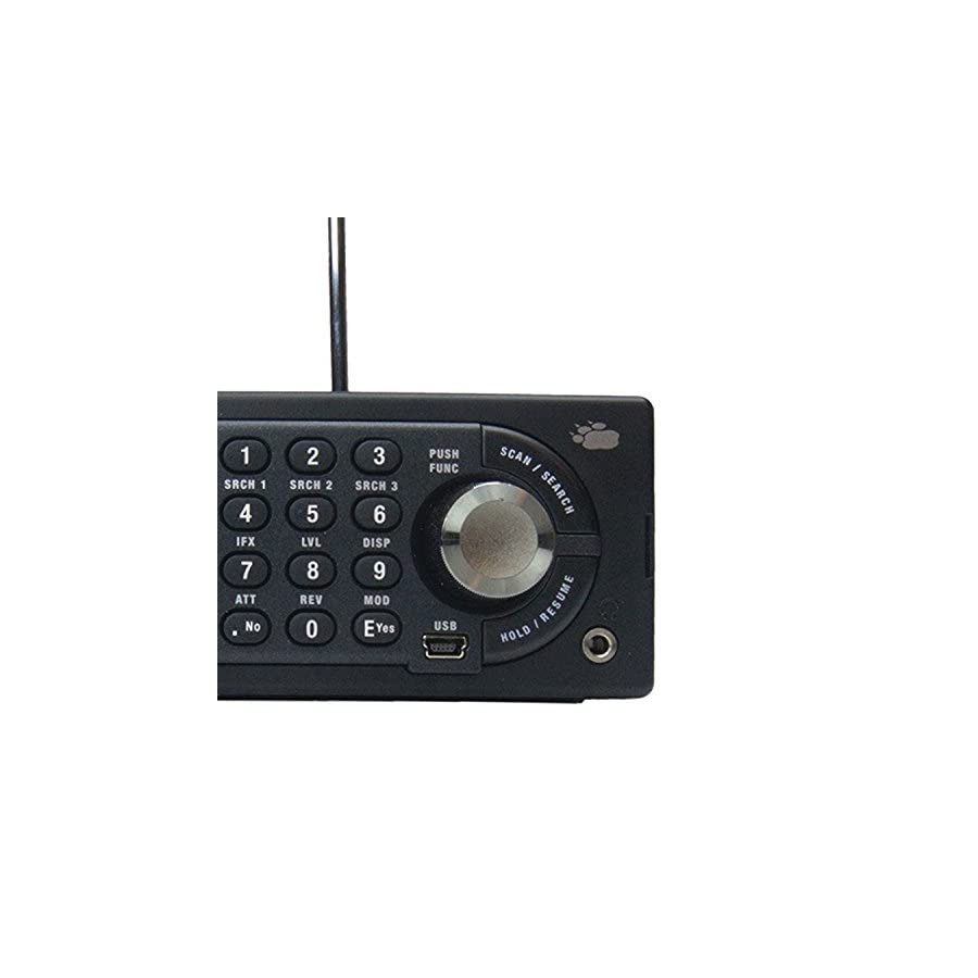 Uniden BCD996P2 Digital Mobile TrunkTracker V Scanner, 25,000 Dynamically Allocated Channels, Close Call RF Capture Technology, 4 Line Alpha display, Base/Mobile Design, Phase 2, Location Based Scanning