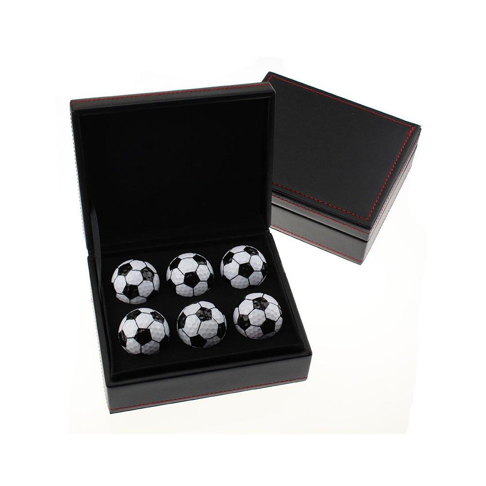 Crestgolf Creative Gift Set of 6 Novelty Golf Balls