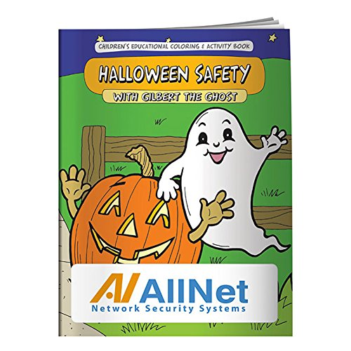 (BIC Graphic Coloring Book: Halloween Safety White 2500)