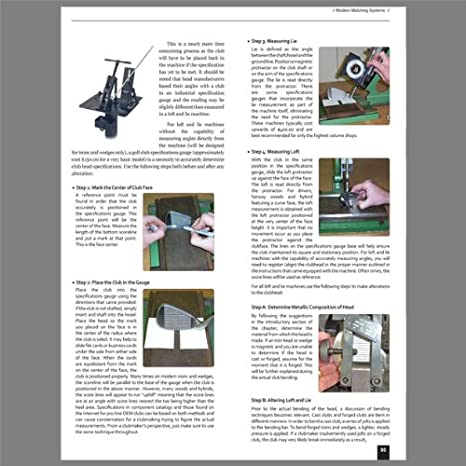 Modern Guide to Golf clubmaking Libro & Golf clubfitting ...