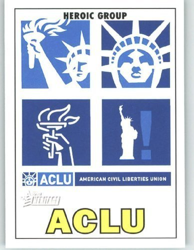 2009 Topps American Heritage Heroes Trading Card #60 ACLU Heroic Groups & Movements - Baseball Card (Topps Trading Heroes Cards)