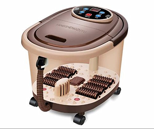 TY BEI Foot SPA y masajeador con Calentador de Masaje Bubble Foot Massager Masaje de pies Footbath |