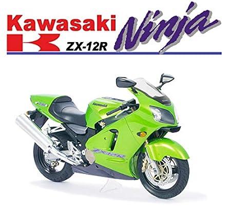 Tamiya 14084 - Kawasaki Ninja ZX-12R: Amazon.es: Juguetes y ...