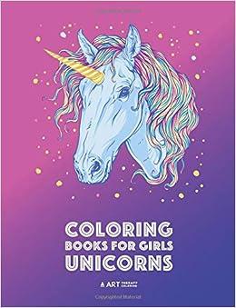 Coloring Books For Girls Unicorns Detailed Unicorn