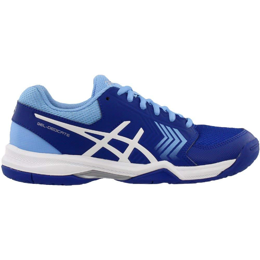 ASICS Gel-Dedicate 5 Women's Tennis Shoe, Monaco Blue/White, 5.5 M US by ASICS (Image #2)