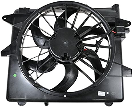 Motor del ventilador de refrigeración del radiador hoja de 3 ...