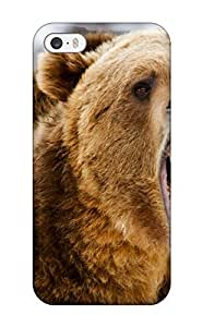 Tpu Shockproof/dirt-proof Grizzly Bears Cover Case For Iphone(5/5s)