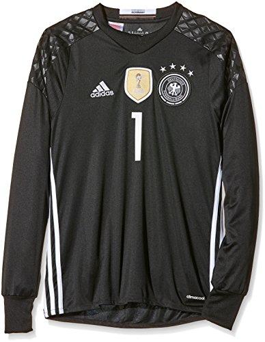 adidas Kinder Trikot DFB Goalkeeper Jersey Youth Neuer, black, 164, B74833