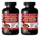 Product review for stress relief vitamins b - ADVANCED PAIN RELIEF - 610MG - msm best naturals - 2 Bottle (120 Capsules)