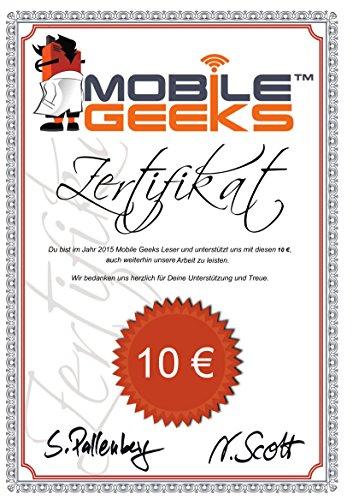 Amazon.com: Mobile Geeks Sponsor-Zertifikat \
