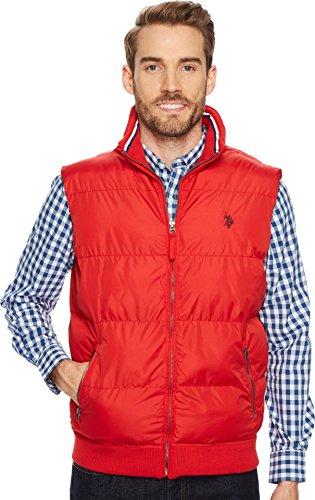 Polo Assn U.S Mens Standard Lightweight Puffer Vest