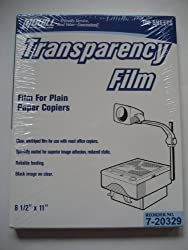 Quill Transparency Film For Plain Paper Copiers