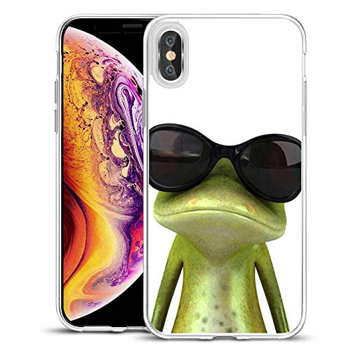 Compatible for Apple iPhone XR Case, Viwell Design Pattern Case, High Impact Protective Case for Apple iPhone XR 6.1 inch (2018) Case The Frog