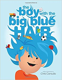 The Boy with the Big Blue Hair