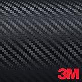 3M Scotchprint Series 1080 Di-Noc Carbon Black 5ft x 1ft Vinyl Car Wrap Film Sheet Roll - 3m1080 - (5 sq/ft)