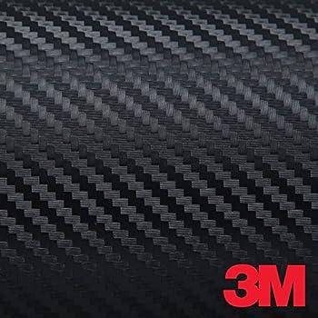 3M JAPAN DI-NOC Black Carbon Fiber DINOC Flex Wrap CA-421 24