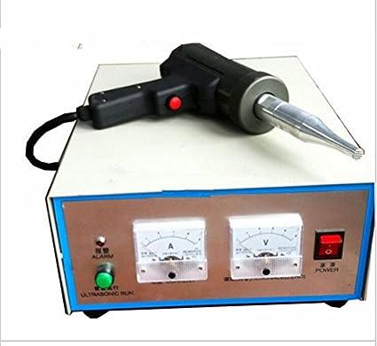 GOWE 800 W generador de ultrasónico Spot soldador soldadura de plástico Máquinas ultrasónico armario con cuerno