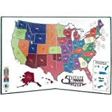Amazoncom WHITMAN Educational Products Us State Quarters - Us State Quarter Map