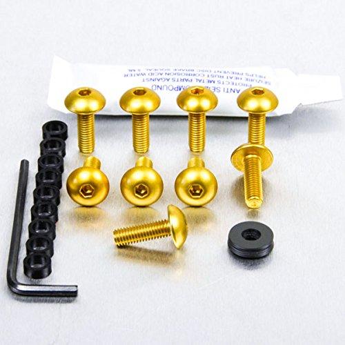 Kit visserie car/Ã/©nage en aluminium K1200R 05-08 Or
