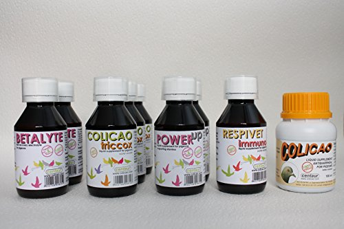 NEW!!! 100% NATURAL Racing Pigeons HEALTH & PERFORMANCE 100 birds/10 Weeks Program 5 products/9 bottles