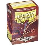 Arcane Tinmen Dragon Shield Matte Crimson 100 Protective Sleeves