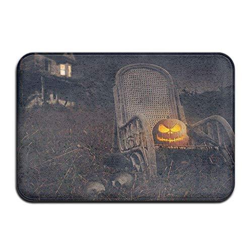 Carl McIsaacDoor Absorbent Room Entrance Doormat, Scary Halloween