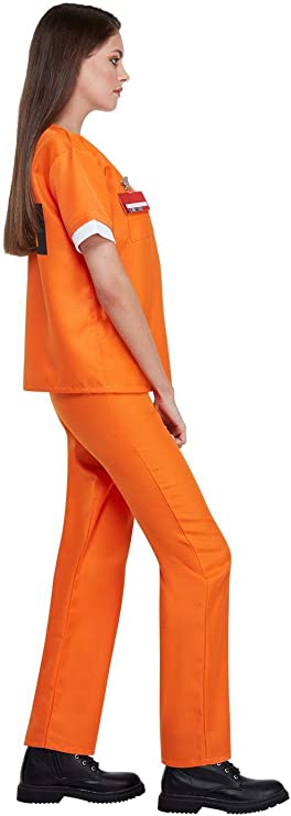 Disfraz de Presa de Orange is The New Black para Mujer: Amazon.es ...