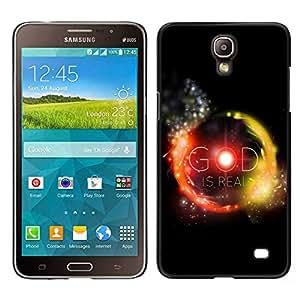 LECELL--Funda protectora / Cubierta / Piel For Samsung Galaxy Mega 2 -- BIBLIA Dios es real --
