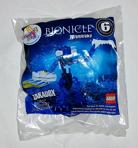 Bionicle Barraki #6 Lego Takadox Mcdonald's Happy Meal 2007 Sealed in Bag