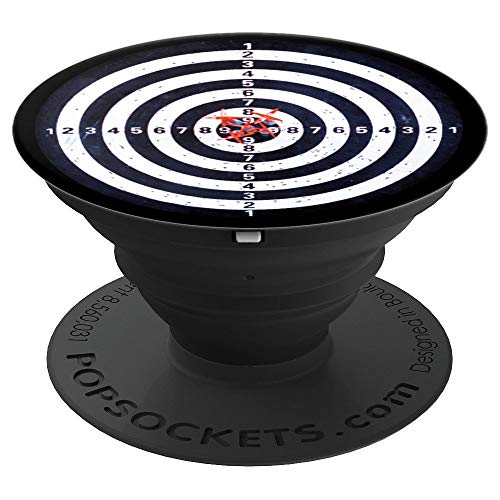 Darts PopSockets Grid Bullseye Dartboard Gift - PopSockets Grip and Stand for Phones and Tablets