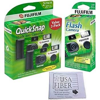 Amazon com : Fuji 35mm QuickSnap Single Use Camera, 400 ASA