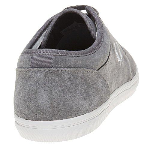 Fred Perry - Zapatillas de Lona para hombre gris gris
