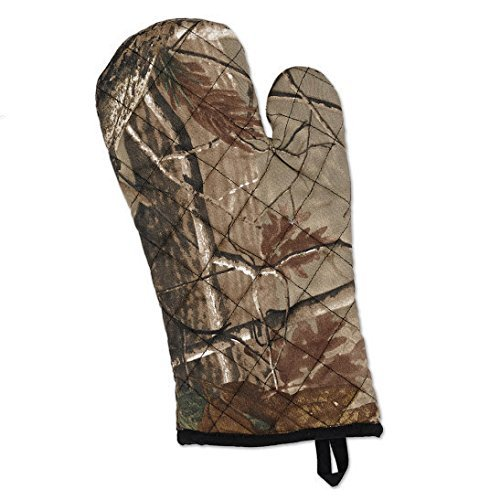 Realtree Woodland Camo Quilted Oven Mitt Design Imports