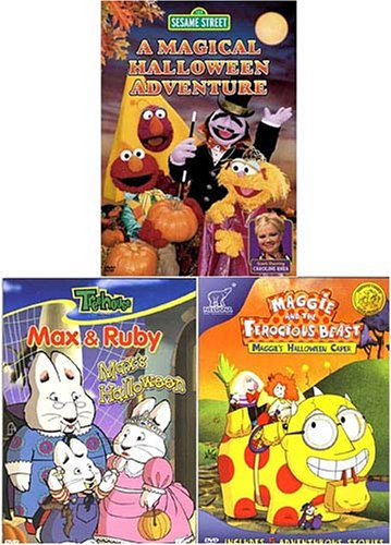 [Maggie/Max and Ruby/Sesame Street (Halloween) (3 pack)] (Halloween Sesame Street)