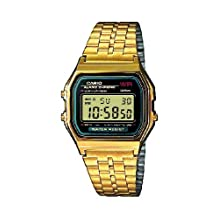 Casio Men's Core A159WGEA-1 Digital Stainless-Steel Quartz Watch