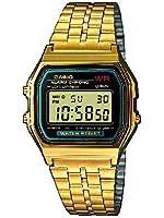 Casio Collection Herren-Armbanduhr Digital Quarz A159WGEA-1EF