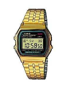 Casio Collection - Reloj Unisex Digital con Correa de Acero Inoxidable - A159WGEA-1EF