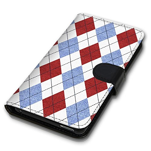 Wallet Book Style Flip Handy Tasche Case Schutz Hülle Schale Motiv Etui für Apple iPhone 5 / 5S - Design Flip MV245
