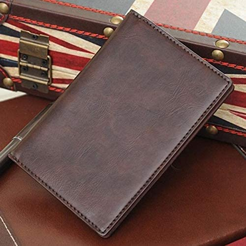 Color : Brown, Size : S Lydianzishangwu Mens Wallet Fashion Casual Pickup Cash Receipt Holder Storage Bag Double Fold Wallet Business Travel