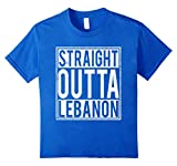 Straight Outta Lebanon T-shirt Lebanese Home
