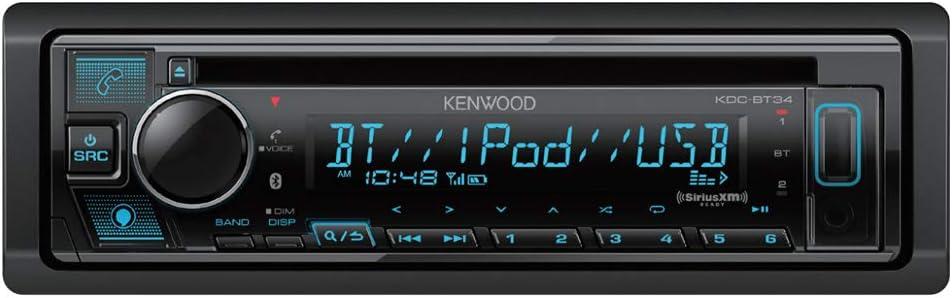 Kenwood KDC-BT34 CD/BT Audio Receiver
