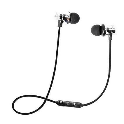 LayOPO Auriculares Bluetooth inalámbricos magnéticos, Bluetooth 4.1, inalámbricos, Deportivos, Auriculares magnéticos,
