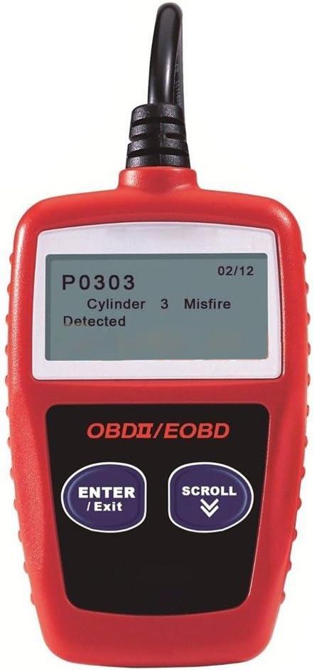 Moligh doll Scanner De Diagnostic Automatique Ms309 Outil De Diagnostic De Voiture OBDII