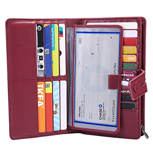 Checkbook Cover Ladies Womans Wallet - 1