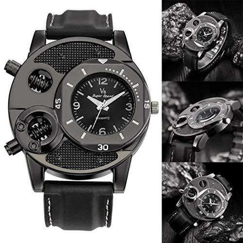 (Fannay Fashion Men Quartz Watch Casual Silicone Watch Wristwatch Smart Watches )