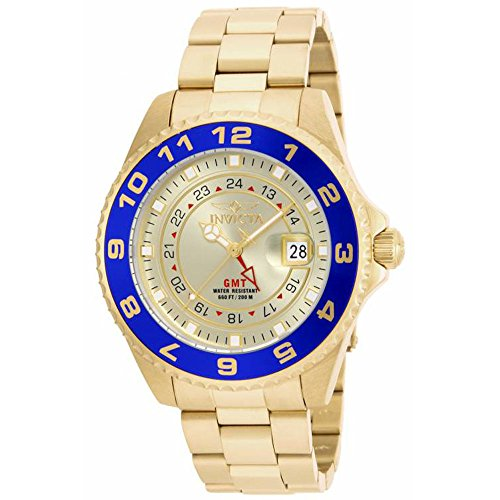 Invicta Men's 17153 Pro Diver Analog Display Swiss Quartz Gold Watch (18k Swiss Gold)